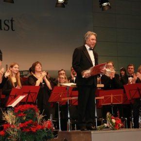 Konzert vom sinfonischen Blasorchester