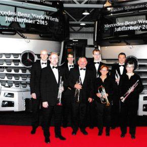 Jubiläumsfeiert Mercedes-Werk Wörth 2015